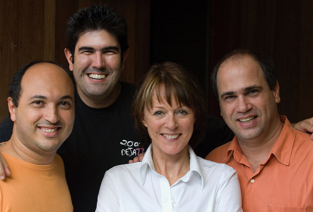 Ney Conceição, Kiko Freitas, Josee, Nelson Faria